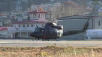 RCAF Bell CH-146格里芬直升机引擎启动