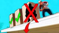 哪个箱子里面藏了人?猜对就会被推下楼顶,小伙运气也忒差了!