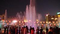 西宁市中心广场音乐喷泉(6)歌曲:不忘初心