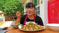 家常豆腐最好吃的做法,色香味俱全,农村大姐1次做2斤吃,真过瘾