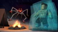 小飞象解说✘Roblox冰山故事模拟器 登山大冒险,发现了可怕雪怪!乐高小游戏