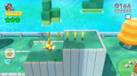 超级马里奥3D世界全收集1-1:马里奥变身猫里奥开启新的冒险