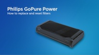 GoPure Power - replace and reset filters