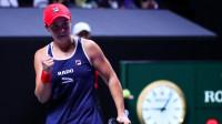 WTA年终总决赛:巴蒂逆转普利斯科娃进决赛