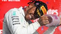F1汉密尔顿提前卫冕 六冠王紧追舒马赫