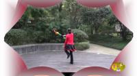 欢快高雅的新式莲香舞 《越来越好》【背面演示】 紫色风信子编跳