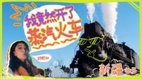 开车算什么?妹子在新疆开中国最后的蒸汽火车!当了回火车副司机
