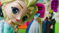 童话王国的母后有欺负白雪公主,小仙子把母后冰封住了,小仙子真厉害呀!