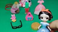 童话王国的白雪公主去套圈,要套到一个包包送给妈妈,小朋友快给白雪公主助力吧!