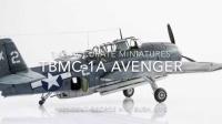 """S-a-t 48比例 TBM-1C """"复仇者"""" 乔治 H.W. 布什 X2图片展"""