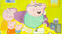 小猪佩奇立体绘本故事 猪爸爸该减肥啦