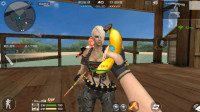 CF穿越火线:稀有近战神器-香蕉匕首,自带击杀音效,真好用!