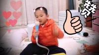 许巍经典《蓝莲花》被4岁半萌宝模仿,有同龄PK的吗?