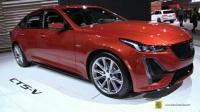 洛杉矶车展实拍 2020 凯迪拉克 Cadillac CT5-V