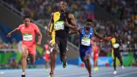 2012奥运4X100米:接棒与美国同步,博尔特瞬间甩开,神一样存在
