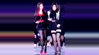 Tara智妍完美身材热舞,西装高跟黑丝诱惑至极