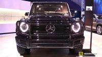 洛杉矶车展实拍 2020 Mercedes-Benz G550