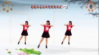 阳光美梅广场舞【柔柔的眼波柔柔的你】原创动感健身操附教学-编舞:美梅