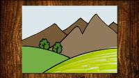 小风景2窦老师教画画