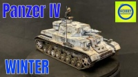 Andy's 制作边境 Ⅳ号坦克F1型 白色冬季迷彩