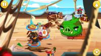 愤怒的小鸟英雄传 海盗船大战 对战猪猪国王