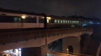 【列车】HXD3D+25T【Z138】广州——乌鲁木齐 京广线 长江大桥上行