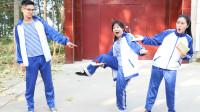 童年:小伙伴们比赛踢毽子,田田表演花式踢毽子,实力不允许低调啊!