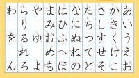 日语零起点入门——五十音图第三讲