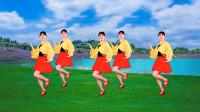 广场舞《青青河边草》美美的32步,伴随着经典的旋律,快乐又健身