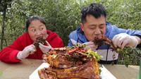 5斤红烧羊排,老公大口吃肉,大口喝酒,胖妹气质这块拿捏妥妥的