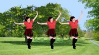 广场舞《天边花正香》网红32步,简单又好看,背面示范带您一起跳