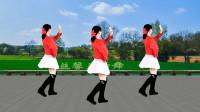 益馨广场舞《南方的雨》简单优雅32步,美美的背面示范带您跳