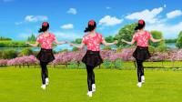 益馨广场舞《情深几许》时尚动感32步,好看好学,背面演示带您跳