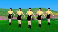 益馨广场舞《坦坦荡荡活人间》欢乐的32步,简单又大方,附分解教学