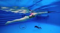 蛙泳教学视频(二)——浮板学习蛙泳腿