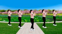 益馨广场舞《送亲》火爆网红32步,轻松的弹跳,简单又快乐,附背面示范