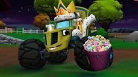 超级疯狂怪兽车11  克莱瑟偷盗万圣节糖果被阿杰和飚速吓跑.avi