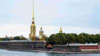 彼得保罗要塞 涅瓦河畔的战争古堡 先有要塞后有圣彼得堡【原创】