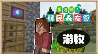 鬼鬼【我的世界】高等游牧民族来拜访啦!【集合啦!村民森友会#2】与邻居村庄的第一次接触