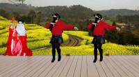阿裙广场舞慢三版《丁香花》多么忧郁的花画面定格的时候改编舞阿裙