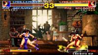 《拳皇95》超必杀最大伤害测试,打成残血刚及格,比利一击直接秒满血
