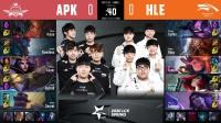 2020LCK春季赛HLE vs APK_1-第八周Day4