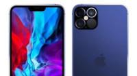 iPhone12 Pro午夜蓝渲染图流出:刘海/边框控制不错