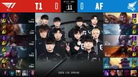 2020LCK春季赛T1 vs AF_1-第九周Day1