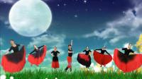 男女合屏齐跳蒙古舞《草原的夜》这默契简直就是天作之合,太美了