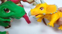 帮帮龙出动之恐龙探险队 霸王龙 恐龙蛋45