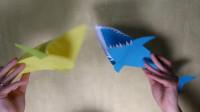 剪纸教程,鲨鱼,详细步骤
