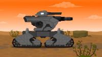 坦克世界动画:钢铁怪物卡通5季