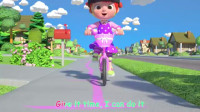 You Can Ride a Bike _ CoComelon Nursery Rhymes骑自行车