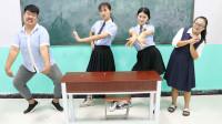 学霸王小九校园剧:新同学报到第一天,就要和学霸一决高下,谁赢了谁是学霸,下集